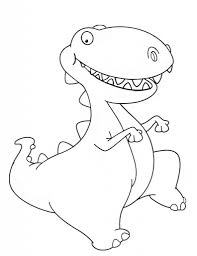 Small Picture Cute Dinosaur Coloring Pages Getcoloringpages Within Baby Dinosaur