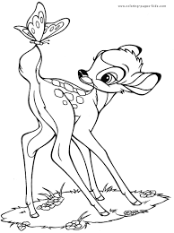 Small Picture Bambi coloring pages Free printable Disney coloring sheets for kids