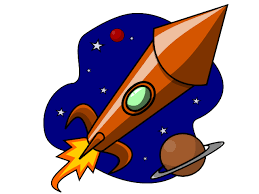 Image result for rocket ship clipart