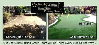diy backyard putting green artificial 3