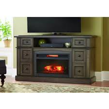 bellevue park 59 in a console infrared electric fireplace