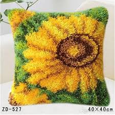 2019 latch hook rug kits sets for embroidery stitch thread carpet embroidery beautiful plant picture threads for embroidery hook from hayoumart6