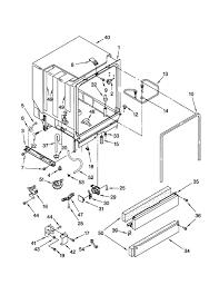 Diagram kenmore dishwasher parts diagram kenmore dishwasher parts model 66516831792 sears partsdirect pertaining