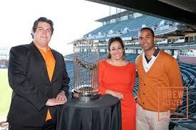 Patrick Davenport with Sonya Clark-Herrera and Bronson McDonald