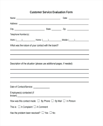 Customer Feedback Form Template Service Forms In Ideas