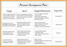 individual development plan examples individual development plan template 6 examples budget intended for