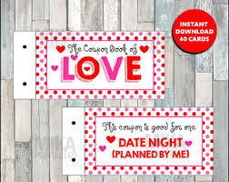 Relationship Coupon Book Love Coupon Book Etsy