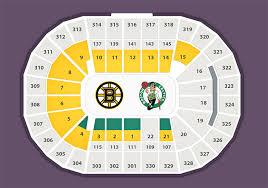 Boston Bruins Seating Chart Explicit Td Banknorth Garden Seat Chart Td Garden Bruins