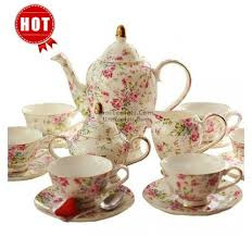 Tea Set Display Stand For Sale Simple Vintage Tea Sets English Bone China Tea Sets UmiTeaSets