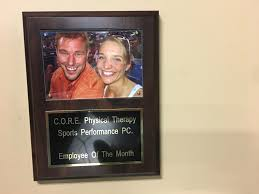 Employee Of The Month Photo Frame Cores New Employee Of The Month Club C O R E Physical Therapy