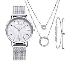 SK SHENGKE Women Minimalist Watches Necklace ... - Amazon.com