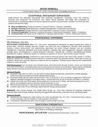 46 Sample Restaurant Manager Resume Word Format In Tips Resume