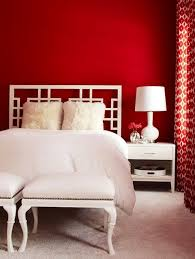 to incorporate red into bedroom decor