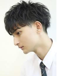 刈り上げスプリングマッシュメンズ髪型 Lipps 吉祥寺annex