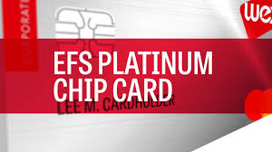 efs platinum chip card what you need to know