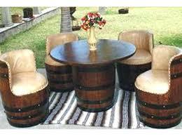 wood barrel furniture. Wooden Barrel Chair S Wood Furniture . N