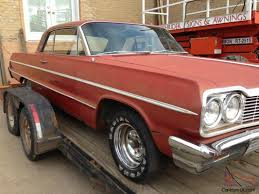 chevrolet Impala 2 dr barn find complete in original great shape 1963