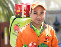 Asian Online Grocery Store Happyfresh The Future Of Online Grocery Shopping In Southeast Asia