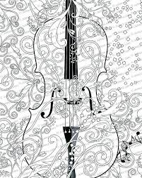 coloring art pages coloring pages printable printable coloring poster coloring page free violin art coloring art pages