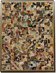 IQSCM | Exhibitions | A Fairyland of Fabrics: The Victorian Crazy ... & Crazy quilt, maker unknown, location unknown, circa 1880-1900, 55 x Adamdwight.com