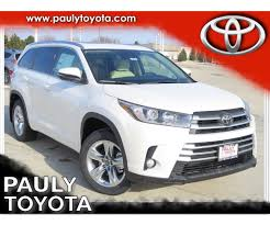 New 2018 Toyota Highlander Limited 4D Sport Utility in Crystal ...