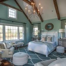 beige furniture. enchanting classic bedroom with beach coloration coastal blue wall paint and area rug featuring white beige furniture