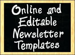 Christian Newsletter Templates Free For Microsoft Word