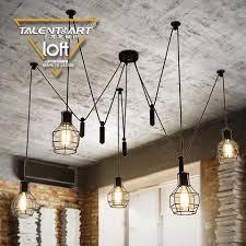 vintage style kitchen lighting. e275 loft spider lamp pendant light pendente iluminacao lamba vintage hanglampen industrial retro nordic 06 style kitchen lighting e