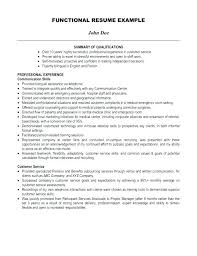 Summary For A Resume Examples Example Of Summary For Resume