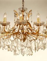 antique gold gilt french glass chandelier previous next