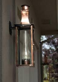new orleans gas lanterns copper outdoor lighting fixtures outdoor gas gas lamp lantern porch light copper new orleans gas lanterns