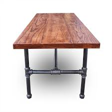 Iron And Wood Coffee Table Black Iron Reclaimed Wood Coffee Table Brown