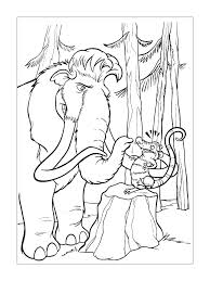 Small Picture Ice Age Coloring Pages 7 Coloring Kids
