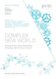 Design Thinking Public Policy Complex New World Translating New Economic Thinking Into