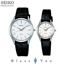 pair watch seiko dolce エクセリーヌ ss leather belt seiko sacm171 swdl209