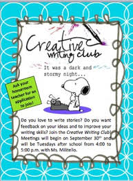 How To Write Flyers Creative Writing Club Docs Flyers Bundle Editable By Militello