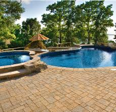 inground pools with waterfalls and hot tubs. Curve Appeal. \ Inground Pools With Waterfalls And Hot Tubs