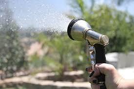 garden hose spray nozzle. Top Pick: SprayTec 9-Pattern Nozzle Sprayer Garden Hose Spray 3