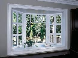 here s a beautiful bow window idea the oversized grids in the