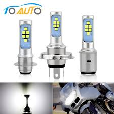 H6 Light Bulb Best Deal De0d8 1pcs H4 H6 P15d Ba20d Led Bulb Canbus