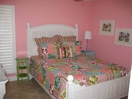 Bedroom Bedroom Beautiful Pink Girls With White And Green