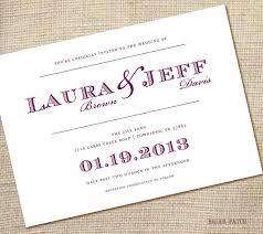 Ideas For Homemade Wedding Invitations