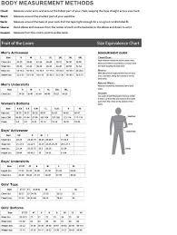 Badger Sweatpants Size Chart Sizing Charts Amerasport