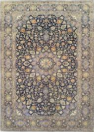 x hand knotted wool navy blue oriental rug area rugs