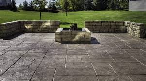 Cost Of Stamped Concrete Patio with regard to Warm 8th Wood