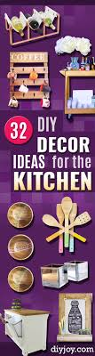 Diy Kitchen Decor Pinterest 32 Creative Diy Decor Ideas For Your Kitchen Diy Joy