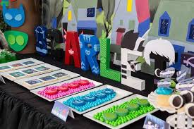 Pj Mask Party Decorations PJ Masks Birthday Party Ideas Pj mask Pj and Birthday party ideas 27