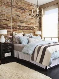 Small Picture 20 Modern Bedroom Designs Entrancing Brick Wall Decoration Ideas