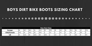 Fox Youth Boots Size Chart Dirt Bike Boots Complete Buying Guide Inc Prices 2019