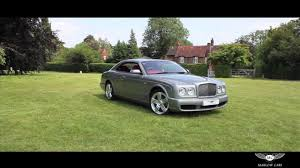 Bentley Brooklands Coupe Red Interior - Marlow Cars - YouTube